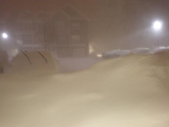 Shelton, CT snow 1-26-11