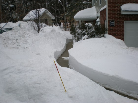 Another view of my front walkway