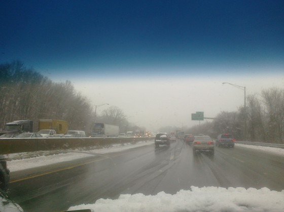 Traffic on I-95 north in CT.  Good times....