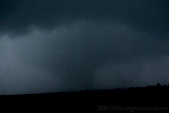 Tornado west of Clarksville, TX 3/8/11 at 5:07 p.m. CST.