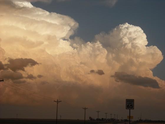 Hail storm west of Burlington, CO