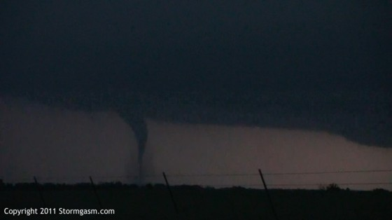 Looking north a few miles south of Emporia, KS.