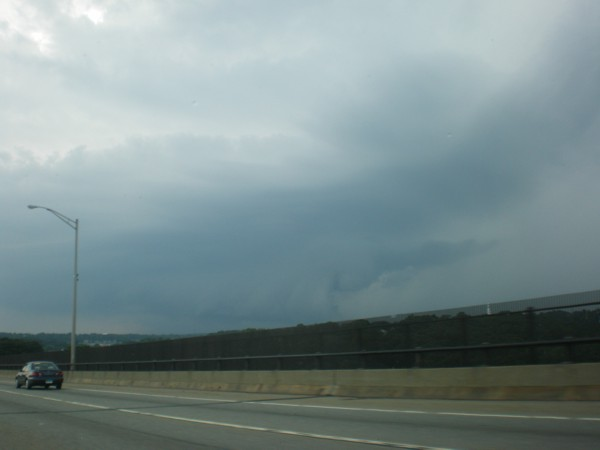 Shelf Cloud near New London, CT 4:30 p.m. EDT July 24