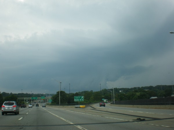 Storm near New London, CT July 24