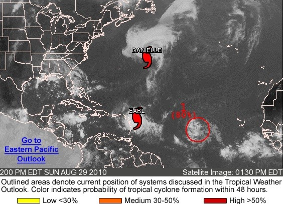Tropical Atlantic Activity from the National Hurricane Center