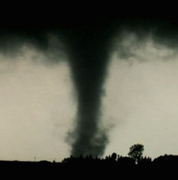 Tornado by Simon Brewer August 24, 2006 Nicellete, MN