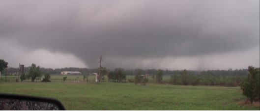 Wedge tornado in Arkansas City, KS.
