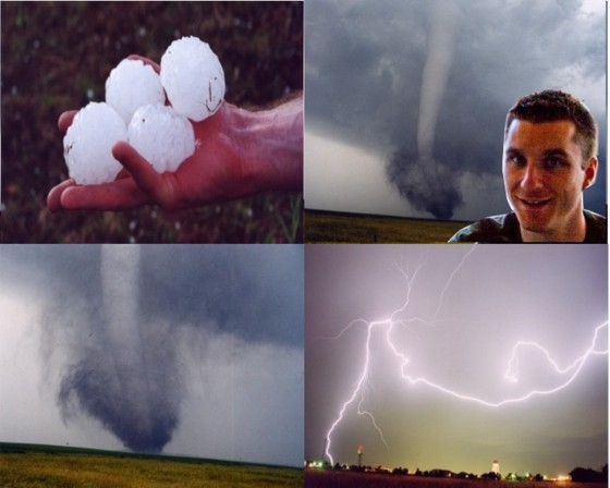 Jim Bishop, storm chaser and meteorologist