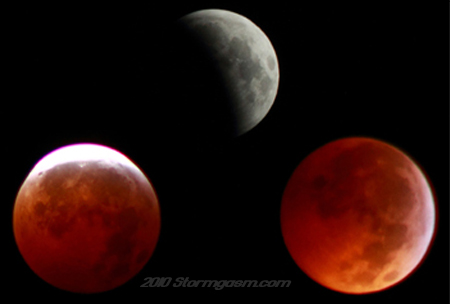 Eclipse on December 21, 2010 taken by Simon Brewer